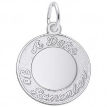 Rembrandt Sterling Silver A Date To Remember Charm