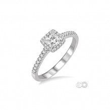 Ashi 14k White Gold Diamond Engagement Ring