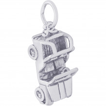 Sterling Silver Jeep Charm