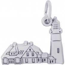 Sterling Silver Portland Lighthouse, ME Charm