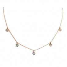 Diamond Durrells 14k Rose Gold Diamond Necklace