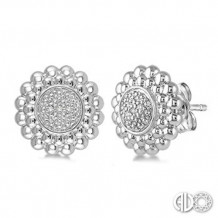 Ashi Diamonds Silver Earrings
