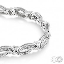 Ashi Diamonds Silver Bracelet