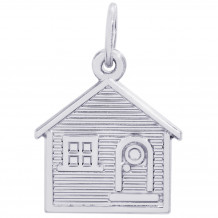 Sterling Silver House Charm