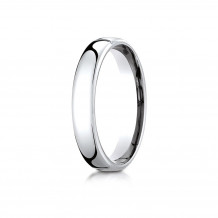 10K White Gold Benchmark 4.5mm  European Comfort-Fit