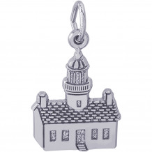 Sterling Silver Pt Loma, Ca Lighthouse Charm