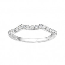 True Romance Platinum 0.38ct Diamond Wedding Band